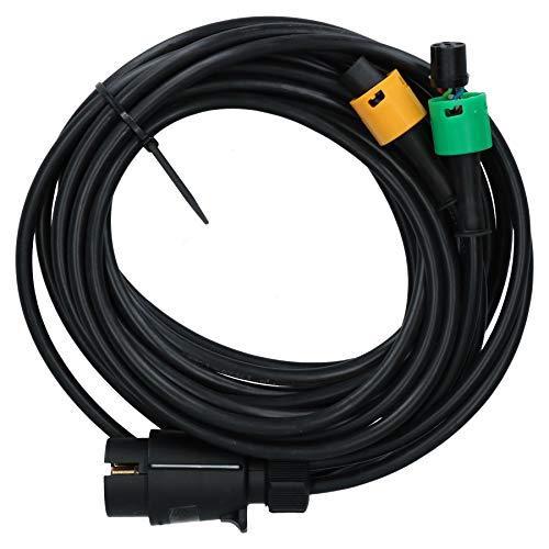AB Tools 4m Arnés de cableado para Remolque Erde & Daxara, AJBA enchufes de 5 Clavijas