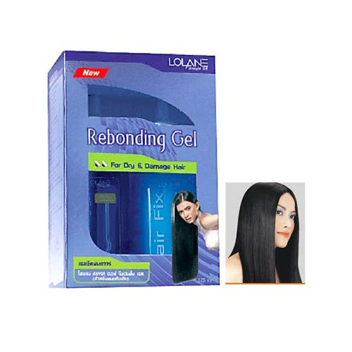 Lolane Straight Off Hair Rebonding Bonding Straightening Cream Kit