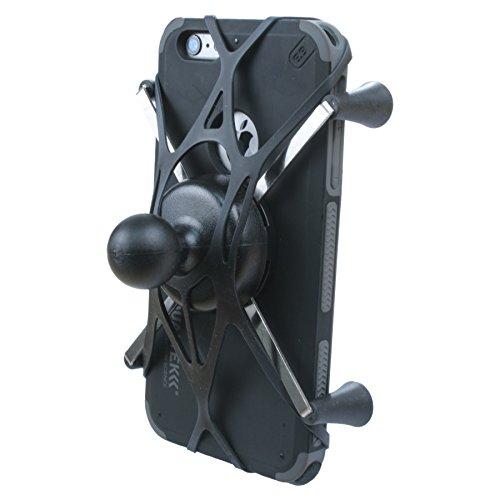 Texel WebGrip with RAM Mount X-Grip IV Large Phone Cradle B-Ball 1 inch (Black) TXL-HOL-UN10B