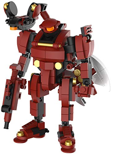 MyBuild Mecha Frame Sci-Fi Series Rita 2 5018 Building Bricks Robot Mech Blocks Toy Set