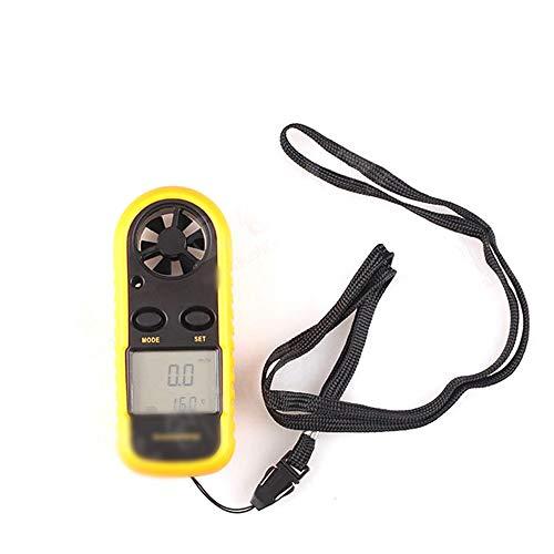FELICILII Anemómetro de Mano Mini Anemómetro Digital Anemómetro Davis Anemómetro Industrial (Color
