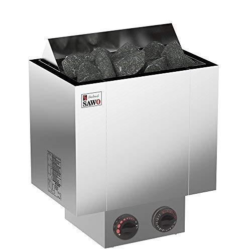 SAWO Nordex 2017 6,0 kW Stufa elettrica per sauna; controllo integrato direttamente...