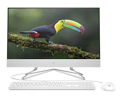 "HP 24-df0084nf All-in-One 24"" Full HD IPS Blanc (Intel Core i3, RAM 4 Go, 1 To + SSD 256 Go, AZERTY, Windows 10)"