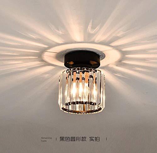 Plafondlamp kristal in de hal hal hal garderobe