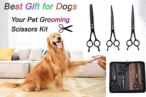 professional dog grooming shears