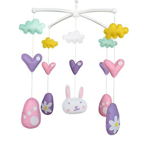 Nouveau-né musical suspendu jouet crèche bébé mobile lit bébé pour 0-2 ans, MR44