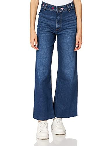 Desigual Denim_CLAUDI Jeans, Azul, 46 para Mujer
