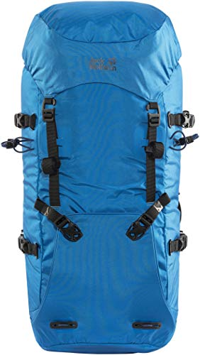Jack Wolfskin Mountaineer 42 AlpinSac a Dos, Hiking Backpacks (à 45 L) Adulte Unisexe, Electric Blue, One Size