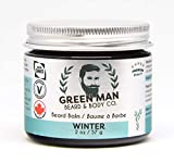 Premium Vegan Beard Balm & Leave-In Conditioner | Extremely Smooth | Protect & Grow Your Beard | 100% Natural Plant-Based Non-GMO Zero Fillers | Winter, Scented with Essential Oils