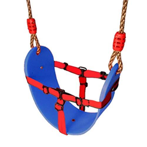 78,74 inch schommelzitje Heavy Duty, EVA hangende veilige schommelzitje, voor kinderen Schommelset voor kinderen Heavy Duty schommel met PE-touw, voor binnen, buiten, tuin, park, thuis