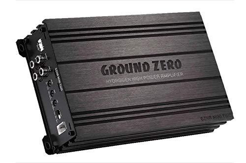 Ground Zero GZHA Mini Two   2 x 130 Watt RMS / 1x 550 Watt RMS an 4 Ohm   Super Klein