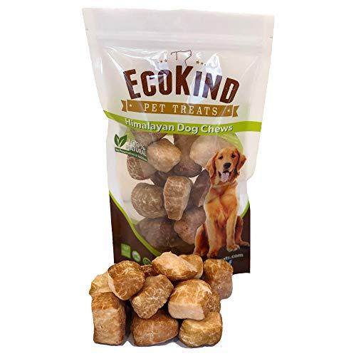 Premium Himalayan Dog Chew Yak Puffs for Small Dogs - Yak Cheese Dog Chews - Natural Microwaved Crunchy Puff Treats - Protein Rich, Gluten-Free, Odorless Long Lasting Yak Milk Puffy Treats (5 Puffs)