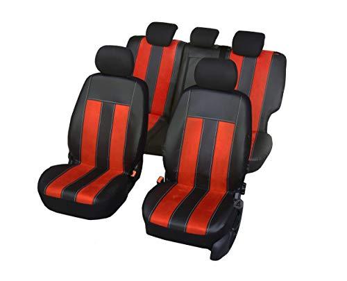 Nieuwe serie - GT universele stoelhoezen compatibel met Nissan Micra 2010-2017 eenvoudige montage één set hoezen GT PULS