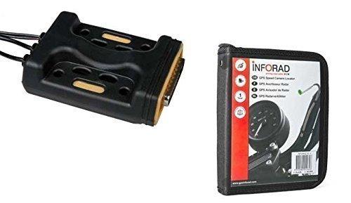 Inforad M1 avisador de radar GPS para motos (Radares GPS par