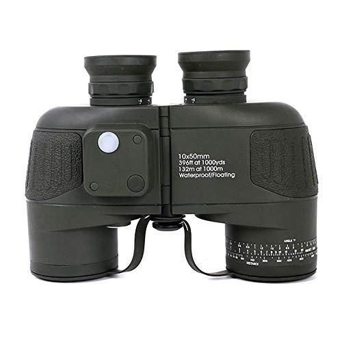 Stella Fella 10X50 Fernglas Hohe Leistung High-Definition-Nachtsicht Outdoor-Navigation Mit Kompass Im Bereich
