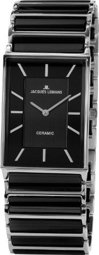 Jacques Lemans Classic Damen-Armbanduhr York Analog Keramik 1-1651A