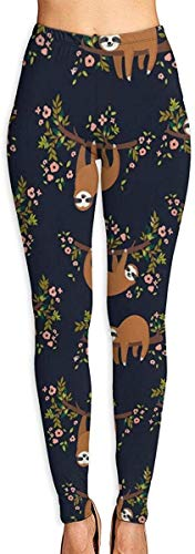 QIAOJIE Pantalones de Yoga High Waist Yoga Sport Pants for Running Yoga Working out, Women's Slimming Pants