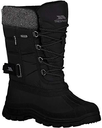 Trespass Męskie buty zimowe Strachan, czarny - czarny Black - 38 EU
