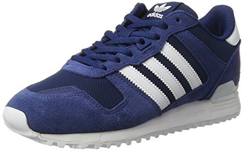 adidas Men's Zx 700 Sneakers, Blue (Mystery Blue/Footwear White/Mystery Blue), 8 UK
