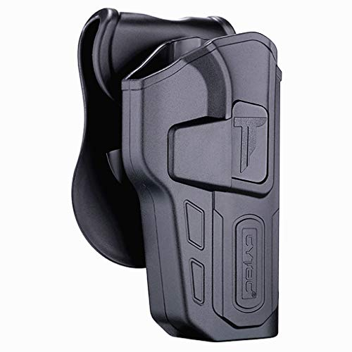 Polymer OWB Holster for CZ 75 SP-01 Shadow 4.7' - Index...