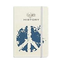 創造的なデザインのまわりのシンボルイラストパターン 歴史ノートクラシックジャーナル日記A 5