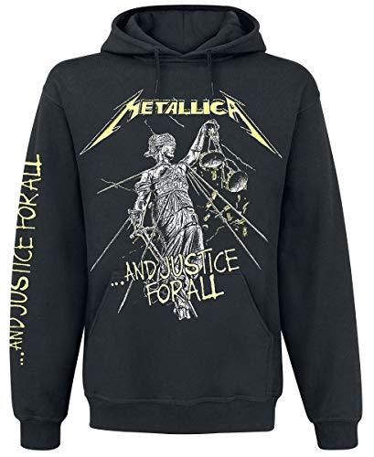 Metallica ...And Justice For All Sudadera con capucha Negro XL