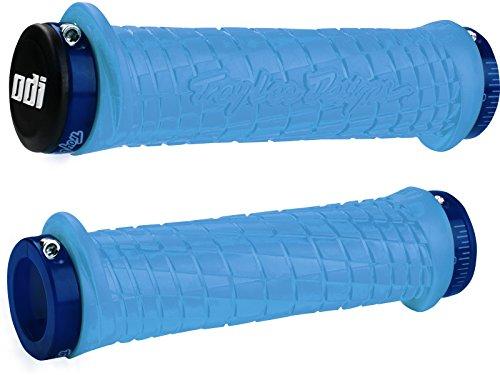 ODI Bonus de Verrouillage MTN Troy Lee avec Pince de préhension, Mixte, 32348, Aqua/Blue