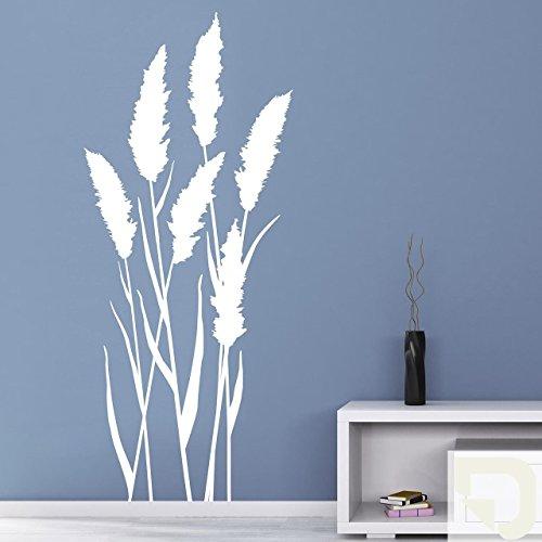 DESIGNSCAPE® Wandtattoo große Gräser - Grashalme 43 x 100 cm (Breite x Höhe) creme DW804081-S-F102