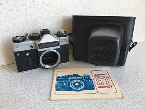 Unbekannt Zenit ET Body Gehäuse Russische SLR Kamera Spiegelreflexkamera Silber ?????