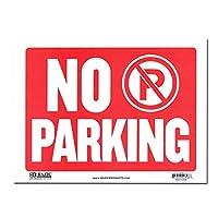 サインプレート Sサイズ 駐車禁止【NO PARKING】Sign Plate 看板 ガレージ インテリア アメリカン雑貨