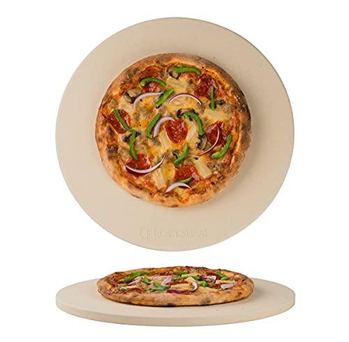 K ROCKSHEAT 14.2'x 0.6' Round Cordierite Pizza Stone