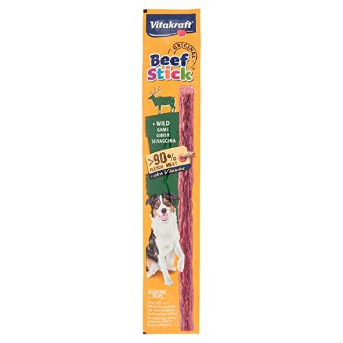 Vitakraft - Beef Stick Caza, Snack para Perros de Carne de Ternera - 12 g ✅