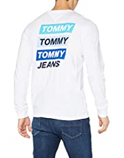 Tommy Jeans Heren Tjm Back Mountain Graphic Tee Shirt