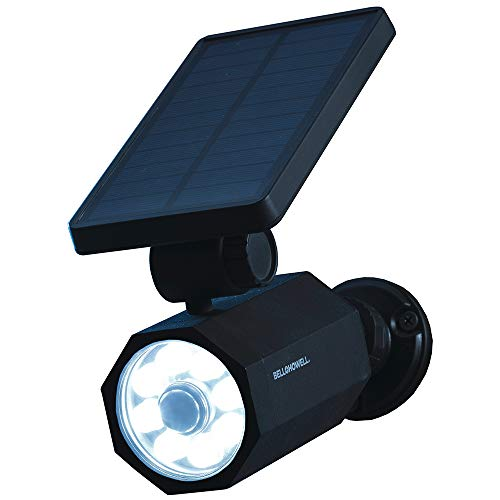 Bell+Howell 2963 Bionic Spotlight Solar Spot 25 Feet Motion Sensor, Sun Panels, Waterproof Frost Resistant Patio, Yard and Outdoor Lighting As Seen On TV, Black