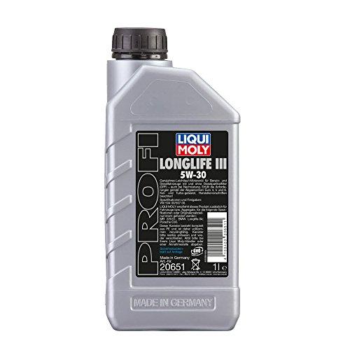 LIQUI MOLY 20651 Motoröl Longlife III 5W-30, 1 L