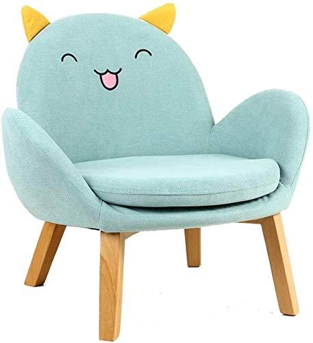 JOUET Meubles de guimauve Siège de canapé pour enfants Girl Garçon Kindergarten Accueil Coin de lecture bébé petit canapé (couleur: bleu, taille: 55x60x62cm) (Color : Blue, Size : 55x60x62cm)