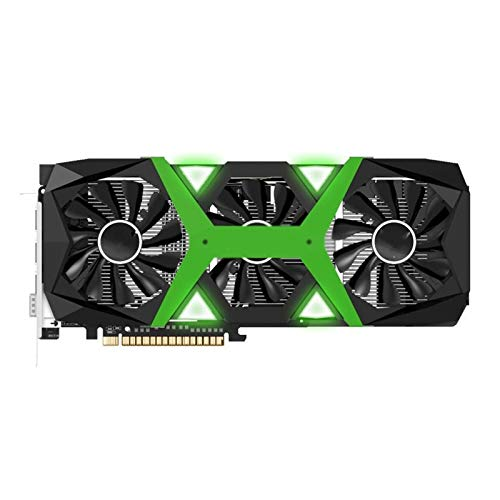 RKRZLB Tarjeta Grafica Gaming Graphics Card Fit For Yeston GTX1660 Super-6G D6 PA Tarjeta Gráfica En Fit For 1530-1785MHz 14GHz 6G 192bit GDDR6 Tarjeta Gráfica para Juegos Edition