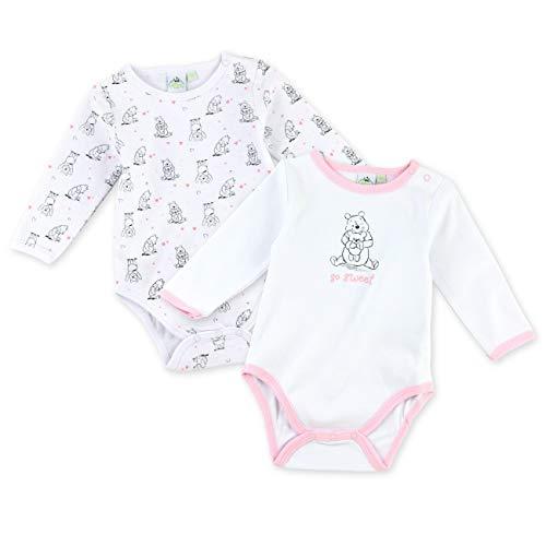Set 2 bodies imprimés bébé fille