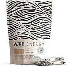 Verb Energy Bar, Vanilla Latte, Caffeinated, 90 Calories, 12 Count