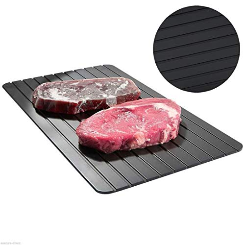 joyliveCY Quick Thaw Plate, Aluminum Defrost Board Rapid Thawing Tray,Defrost Plate Thaws, No Electricity Required, No Chemicals, No Microwave,100% Natural-Non Stick & Dishwasher Safe