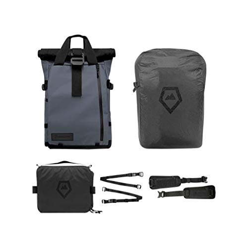 PRVKE Travel and DSLR Camera Backpack with Laptop/Tablet Sleeve and Rain Cover -...
