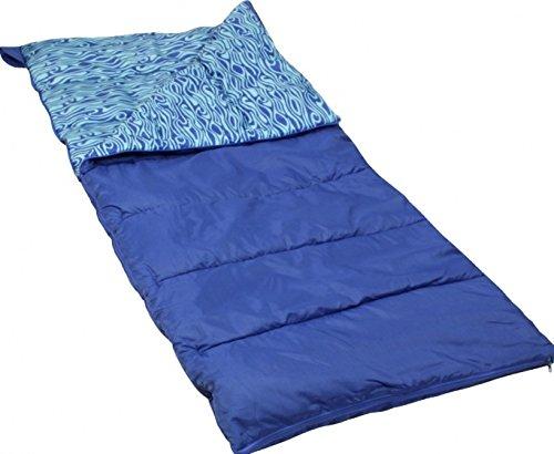 Polydaun Beachhouse Boy Surfplank-slaapzak, blauw, 701 x 60 cm