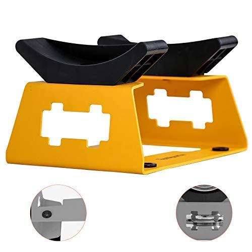 LYMHGHJ - Hantelständer für Krafttraining in Orange, Größe 22*16*12.2cm