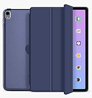 Oaky Case for Apple iPad Air 4 10.9 inch 2020 Trifold Stand with Auto Wake/Sleep Hard Translucent PC Back Cover for Apple ...