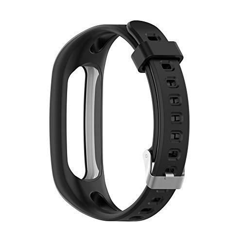 Silikon Uhr Band Armband für Huawei Ehre Band 4 Laufen Version/Huawei Band 3e / Band 4e Smart Uhr Armband Ersatz