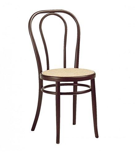Lote 2 Sillas de metal para restaurante Cafe Hotel 42x48x46 / 88h cm