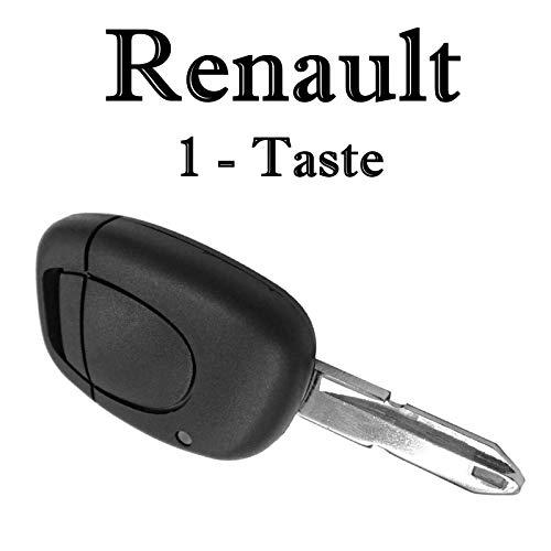 Renault Schlüssel Gehäuse Fernbedienung Reparatur mit Bart KS02NL Clio II Espace III Kangoo Laguna I Master II Megane I Scénic I Trafic II Twingo I