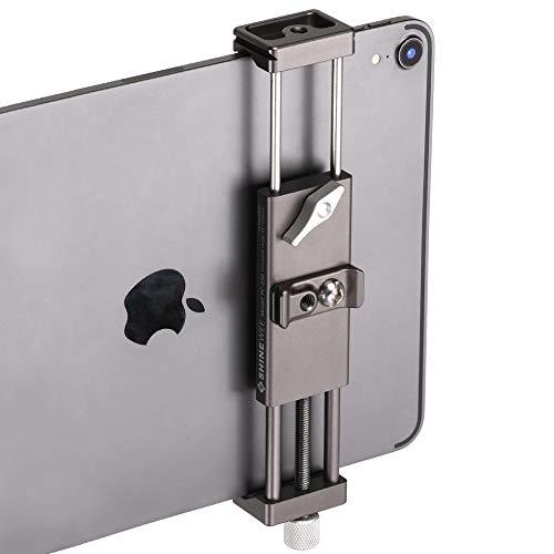 Metal iPad Holder Clamp Adapter for Tripod, Monopod, 1/4' Screw, Acra...