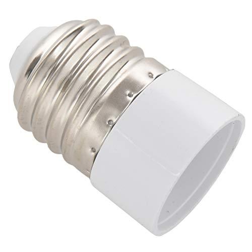 Exanko Convertidor Adaptador de Bombilla Lampara LED E27 a E14