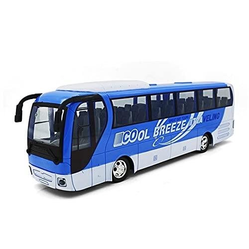 Moerc Simulación Bus RC vehículo Control Remoto inalámbrico Coche Regalo Regalo eléctrico Bus vehículo de Dos Secciones Extendido de autobús público Modelo de Navidad